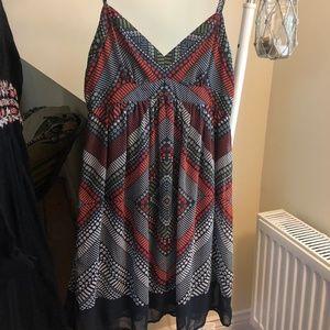 Cute + colourful summer dress!